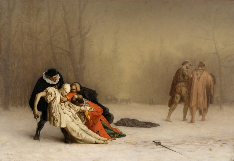 Duel after a Masked Ball. Jean-Léon Gérôme