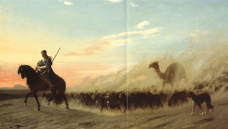 The Syrian Shepherd. Jean-Léon Gérôme