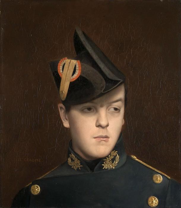 Portrait of Armand Gerome. Jean-Léon Gérôme
