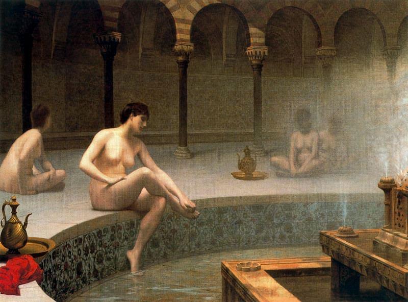 Women in the Turkish bath. Jean-Léon Gérôme