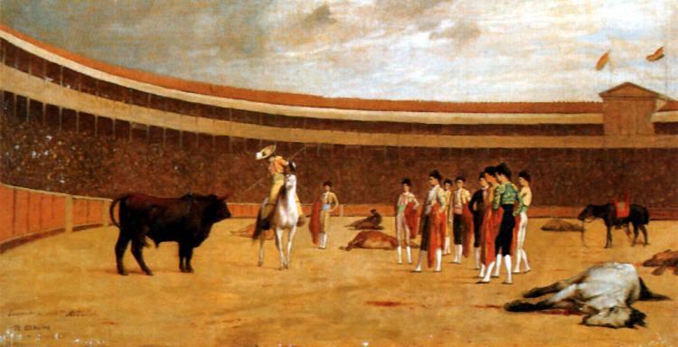 The Picador. Jean-Léon Gérôme