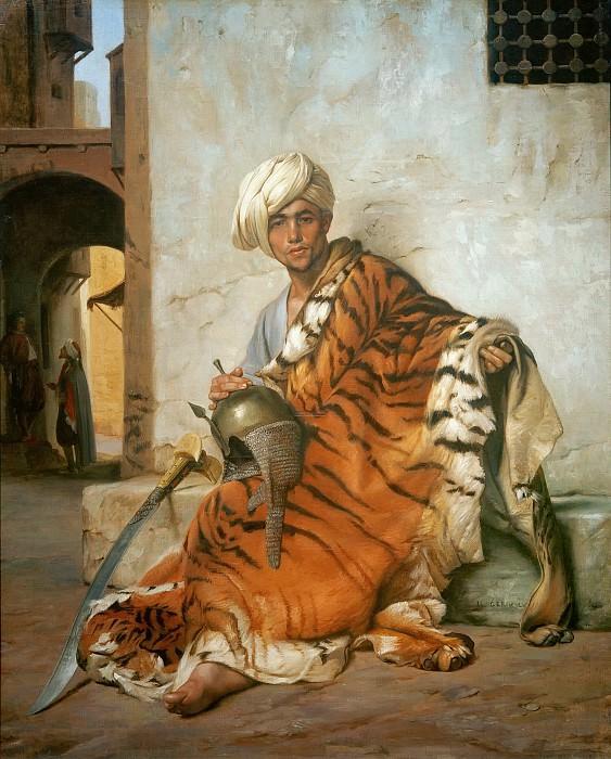Pelt Merchant of Cairo. Jean-Léon Gérôme