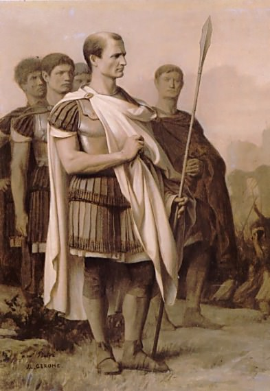 Julius Caesar and Staff. Jean-Léon Gérôme