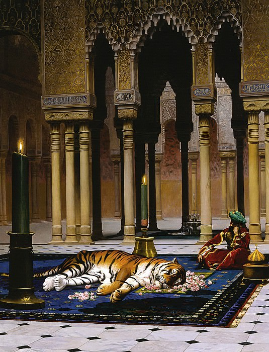 The Grief of the Pasha. Jean-Léon Gérôme