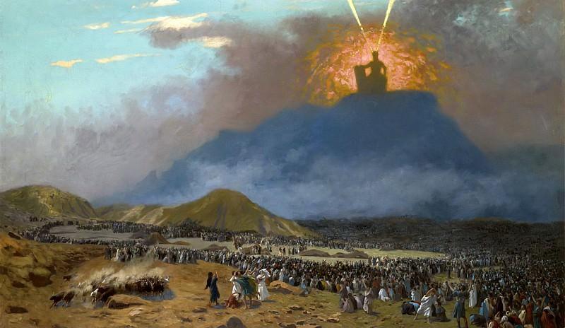 Moses on Mount Sinai. Jean-Léon Gérôme