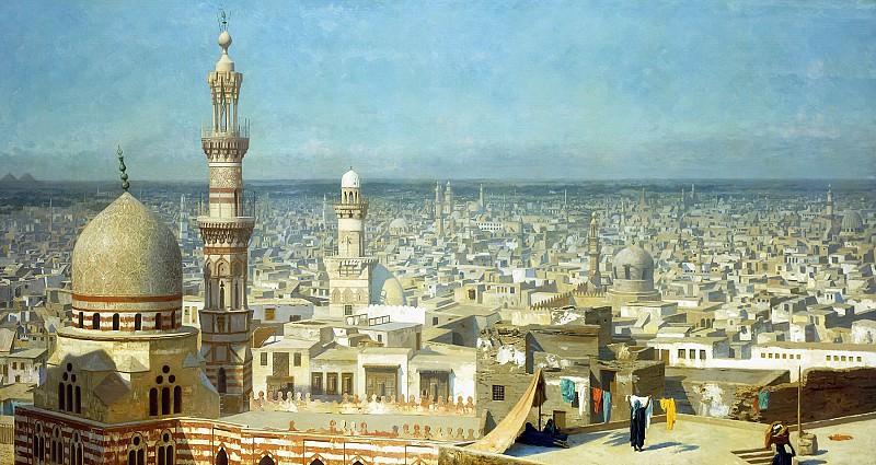 View Of Cairo. Jean-Léon Gérôme