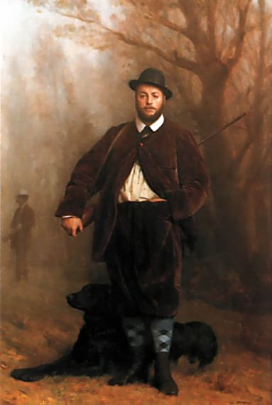 Portrait of Eduoard Delessert. Jean-Léon Gérôme