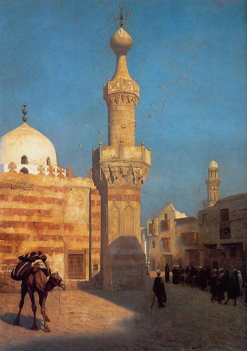 View of Cairo undated. Jean-Léon Gérôme
