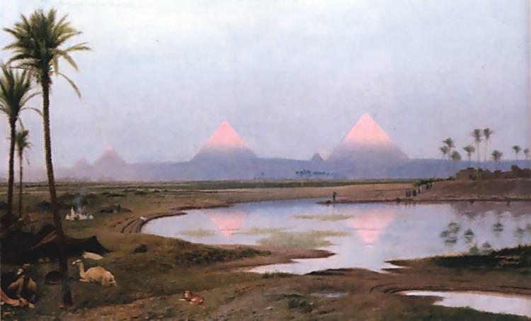 Arab Encampment. Jean-Léon Gérôme