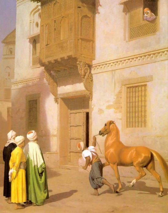 review of the horse. Jean-Léon Gérôme