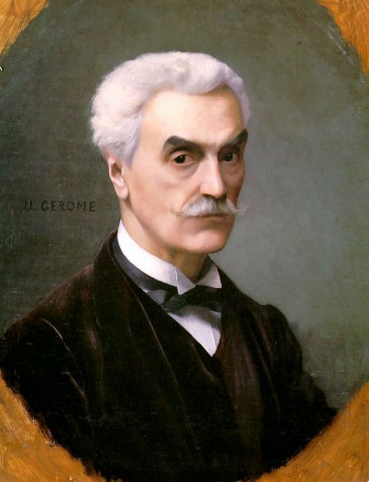 Self Portrait. Jean-Léon Gérôme