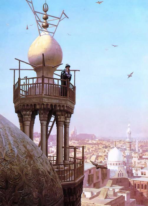 The Muezzins call to prayer. Jean-Léon Gérôme