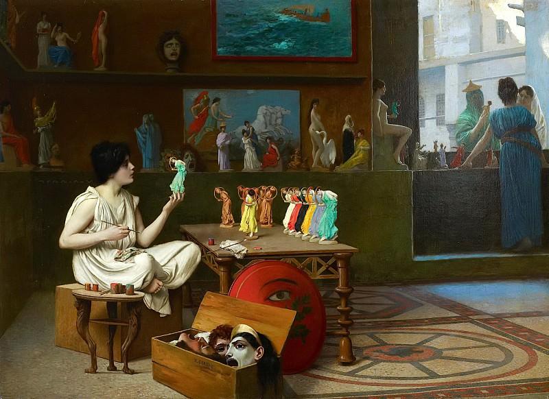 Живопись, вдыхающая жизнь в скульптуру. Жан-Леон Жером