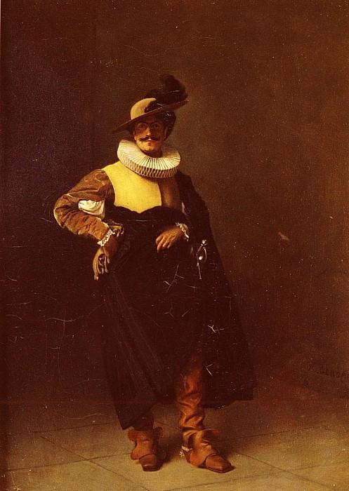 Personnage Louis XIII. Jean-Léon Gérôme