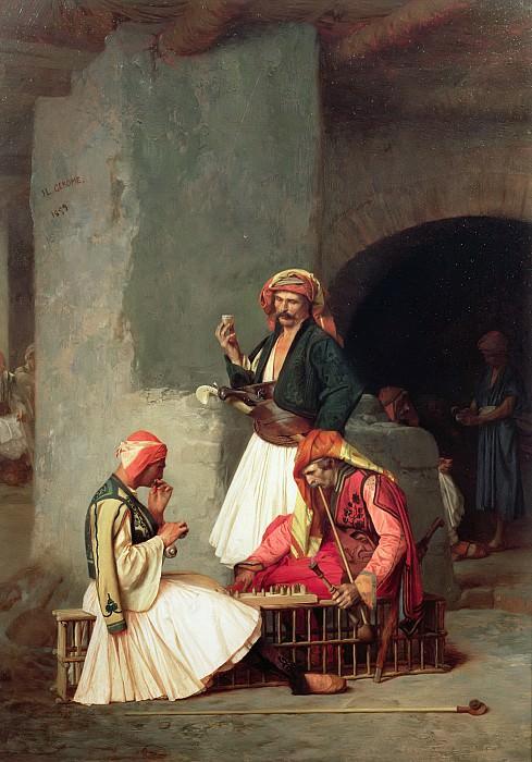 The Draught Players. Jean-Léon Gérôme