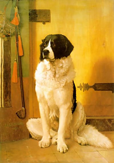 Study of a Dog. Jean-Léon Gérôme