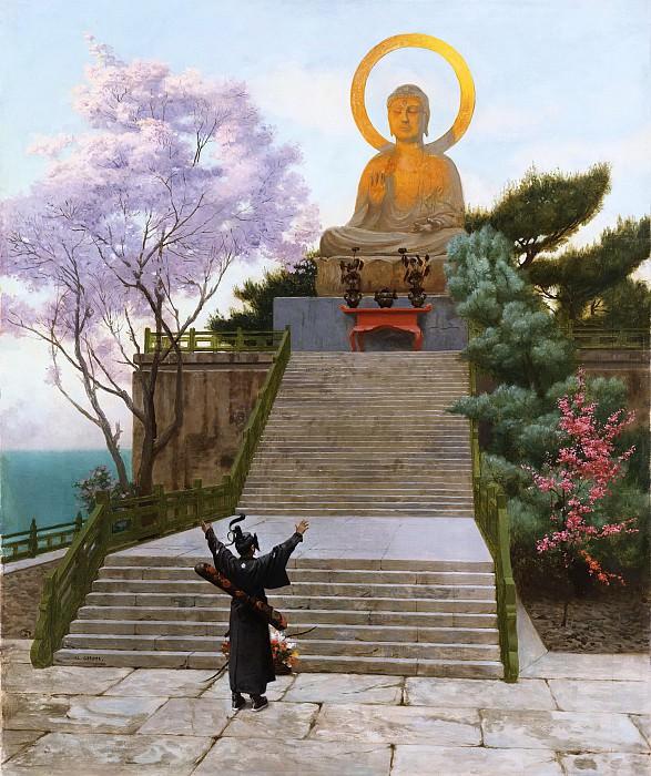 A Japanese imploring a Divinity. Jean-Léon Gérôme