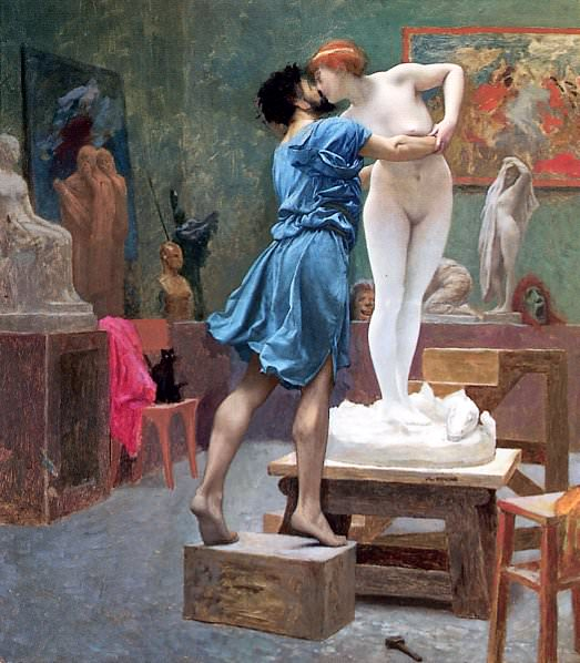 Pygmalion and Galatea. Jean-Léon Gérôme