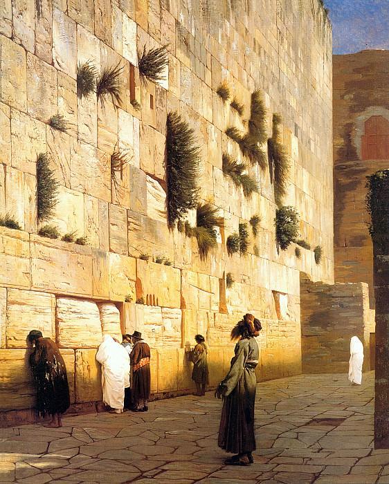 El muro. Jean-Léon Gérôme