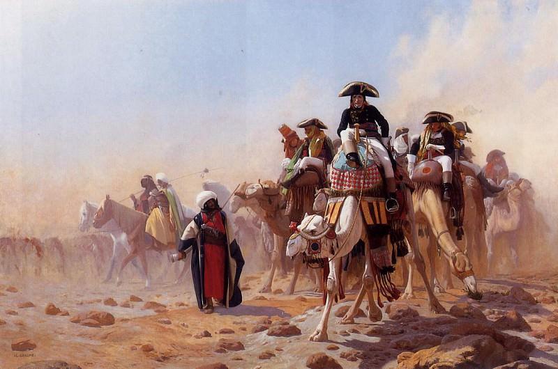 Napoleon and His General Staff. Jean-Léon Gérôme