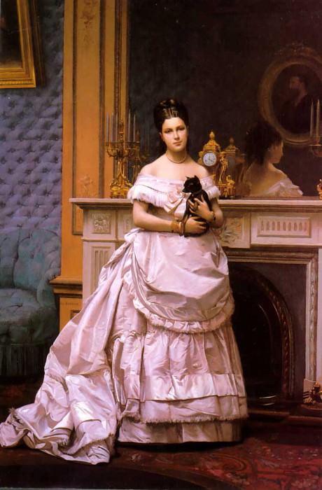 Portrait of a Lady. Jean-Léon Gérôme