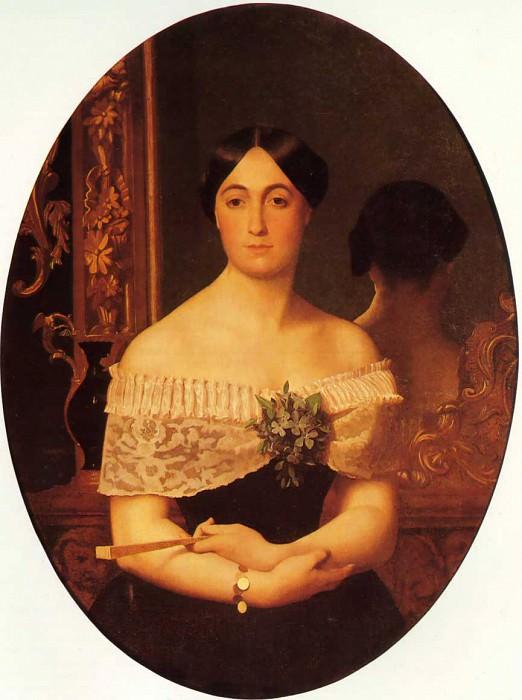 Женский портрет. Жан-Леон Жером