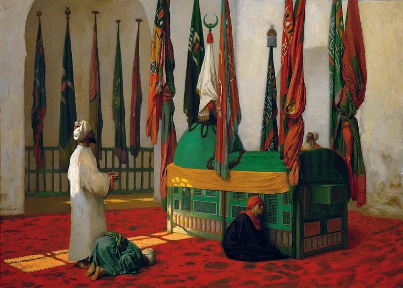 Молитва в мавзолее султана Каюта. Жан-Леон Жером