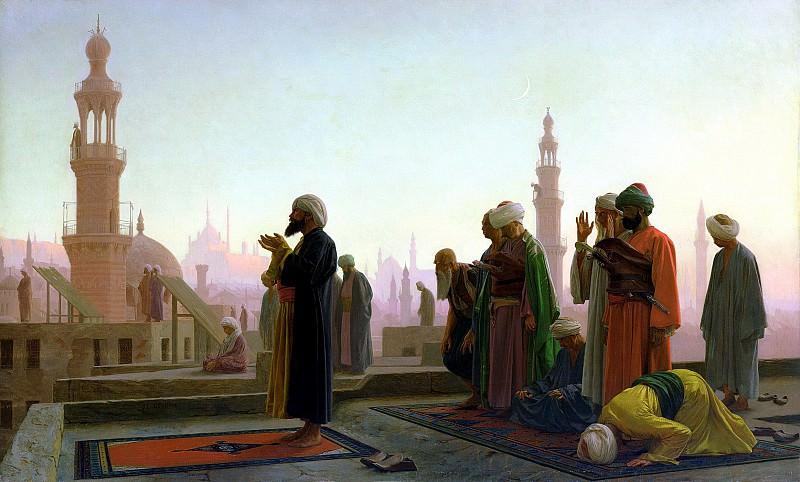 The Prayer. Jean-Léon Gérôme
