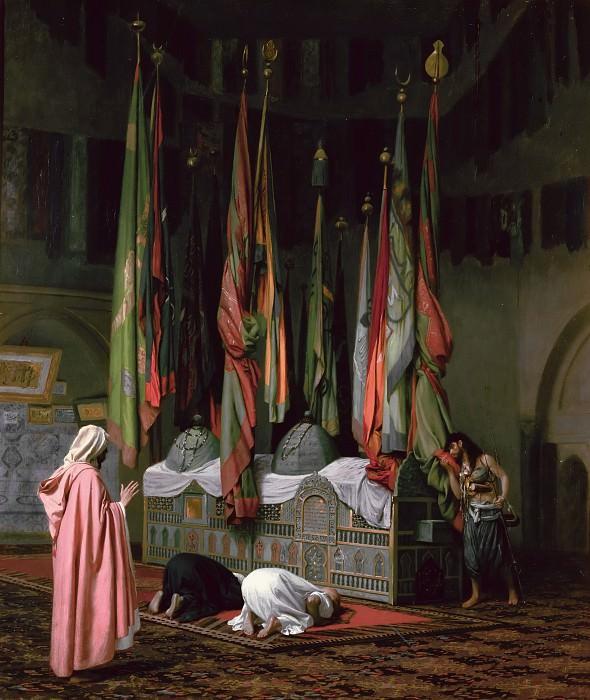 The Tombe of Imam Hisain. Jean-Léon Gérôme