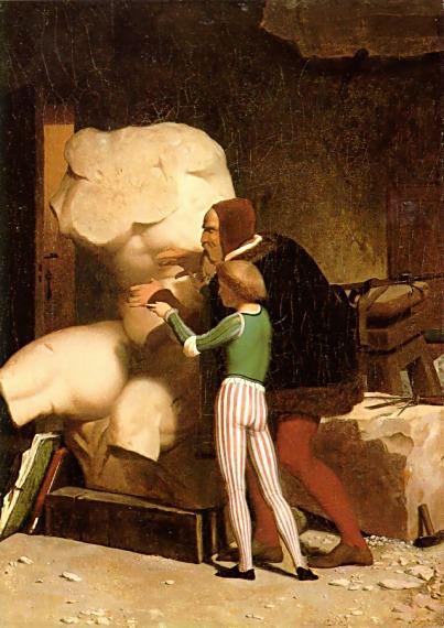 Michelangelo. Jean-Léon Gérôme