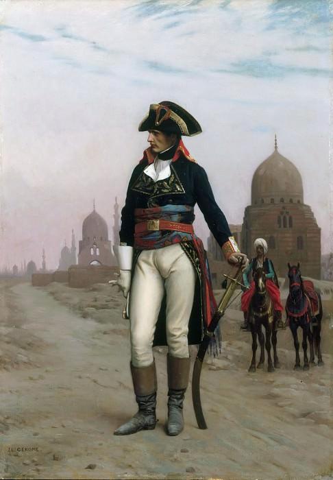 Napoleon in Egypt. Jean-Léon Gérôme