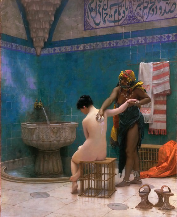 The Bath. Jean-Léon Gérôme