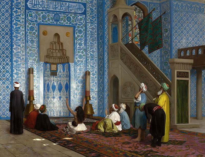 Rustem Pasha Mosque, Istanbul. Jean-Léon Gérôme