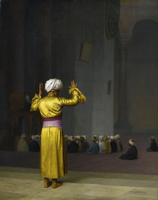 Prayer In The Mosque. Jean-Léon Gérôme