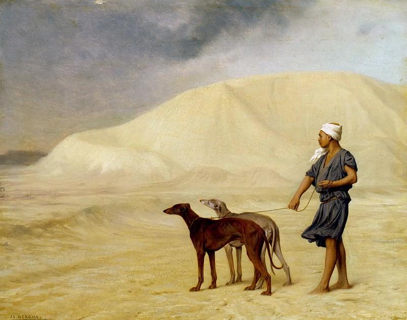 In the desert. Jean-Léon Gérôme