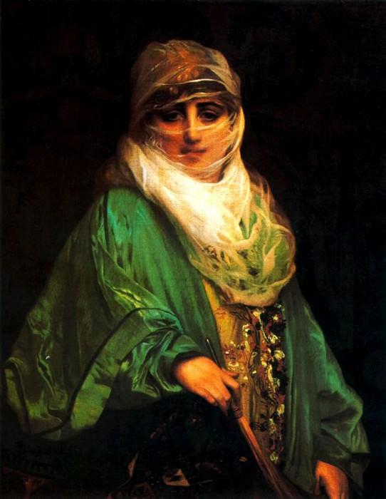 Woman of Constantinople. Jean-Léon Gérôme