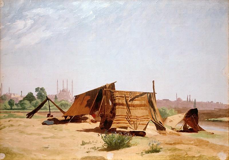 Tent camp near Constantinople. Jean-Léon Gérôme