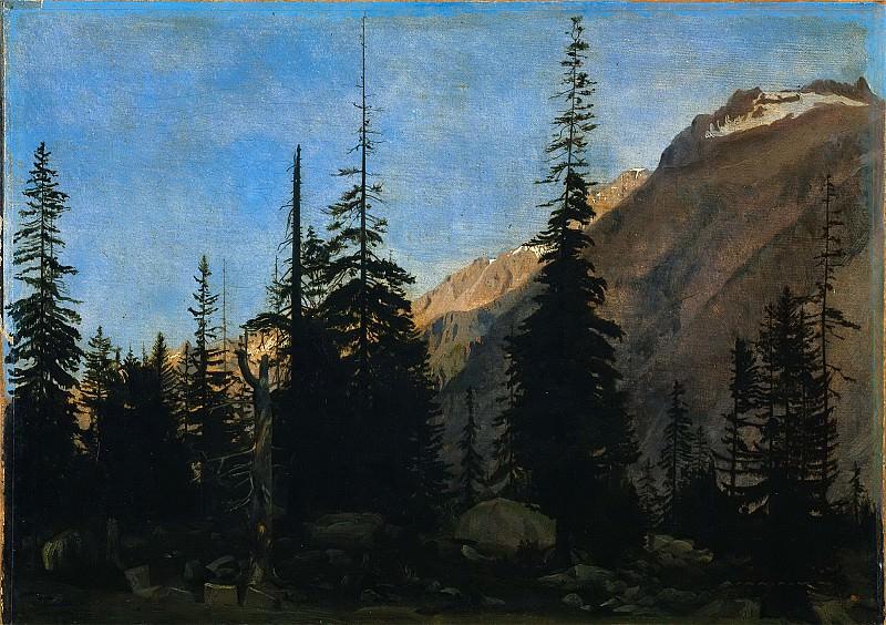 Альпийский пейзаж. Жан-Леон Жером