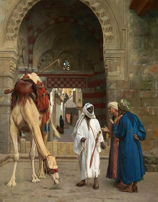 Dispute d Arabes. Jean-Léon Gérôme