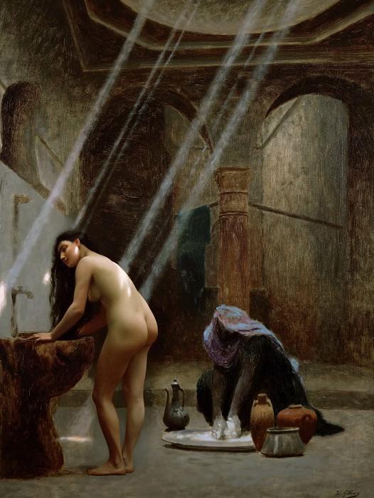 The Moorish Bath. Jean-Léon Gérôme
