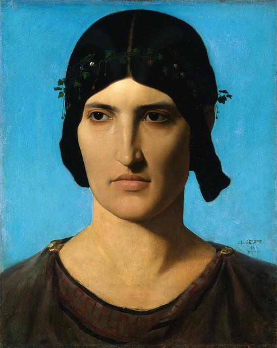 Portrait of a Roman woman. Jean-Léon Gérôme