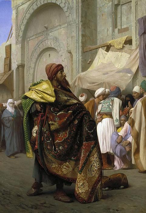 Carpet Merchant of Cairo. Jean-Léon Gérôme