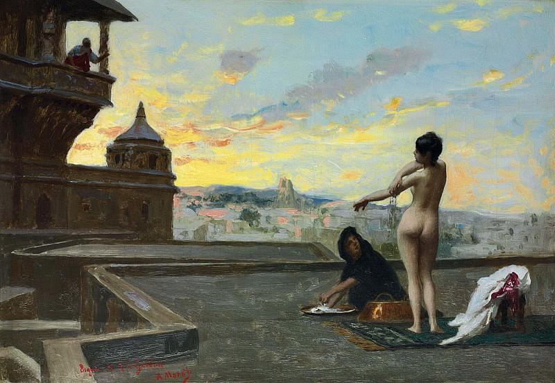 Bathsheba (study). Jean-Léon Gérôme