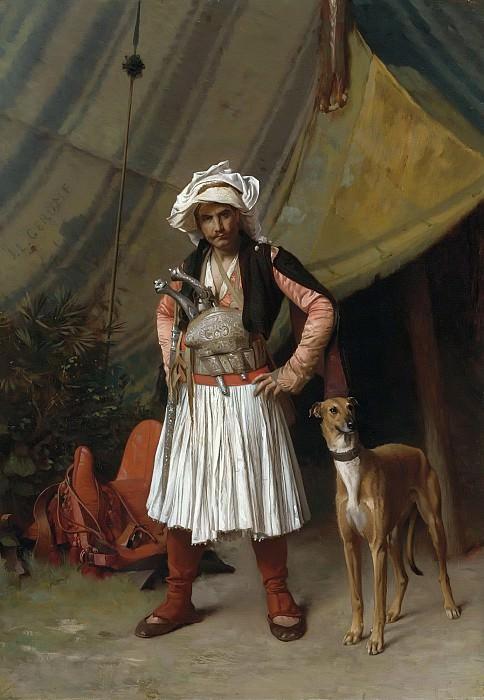 Bashi-Bazouk and his Dog. Jean-Léon Gérôme