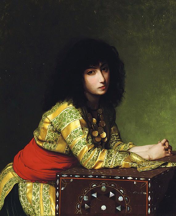 Egyptian girl. Jean-Léon Gérôme