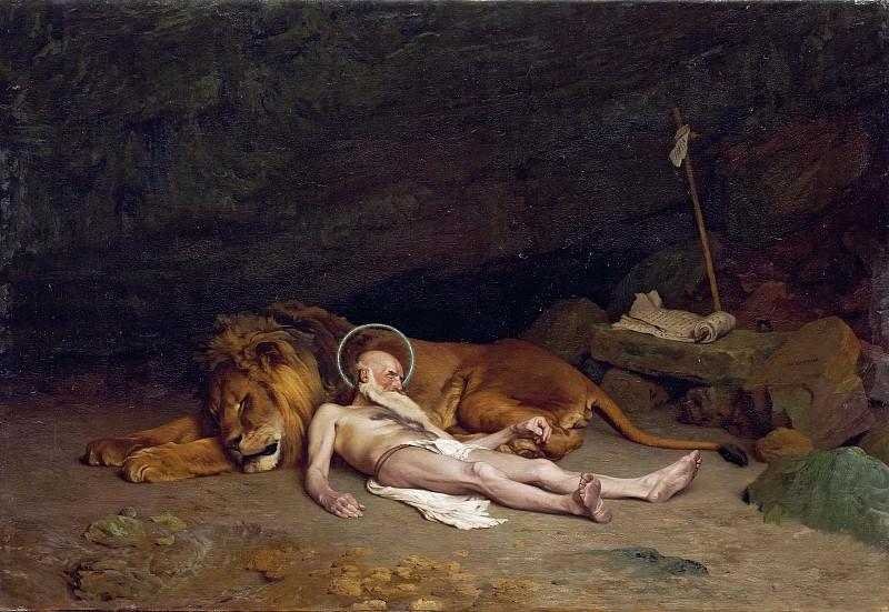 Der heilige Hieronymus. Jean-Léon Gérôme
