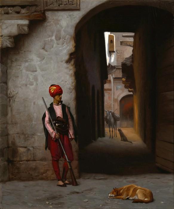 Охранник. Жан-Леон Жером