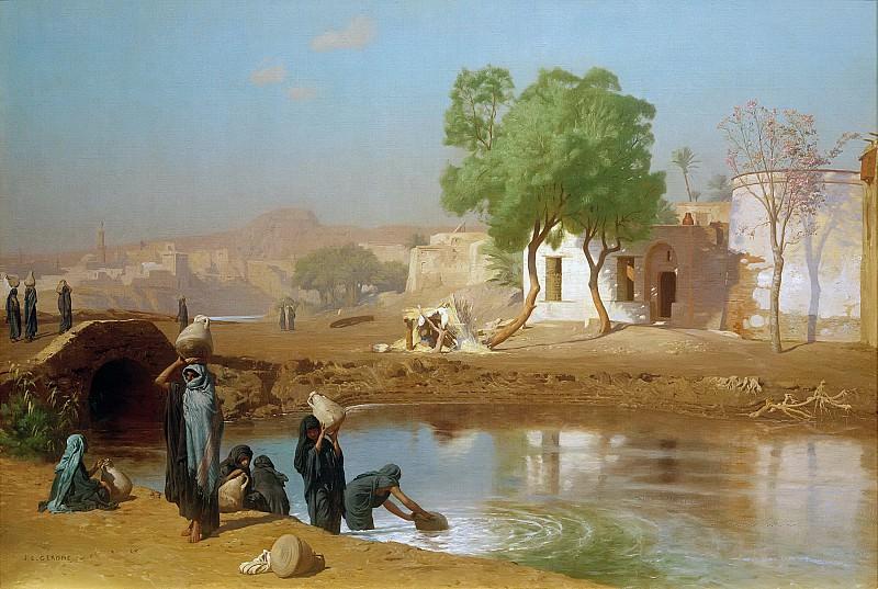 Fellah Women Drawing Water. Jean-Léon Gérôme
