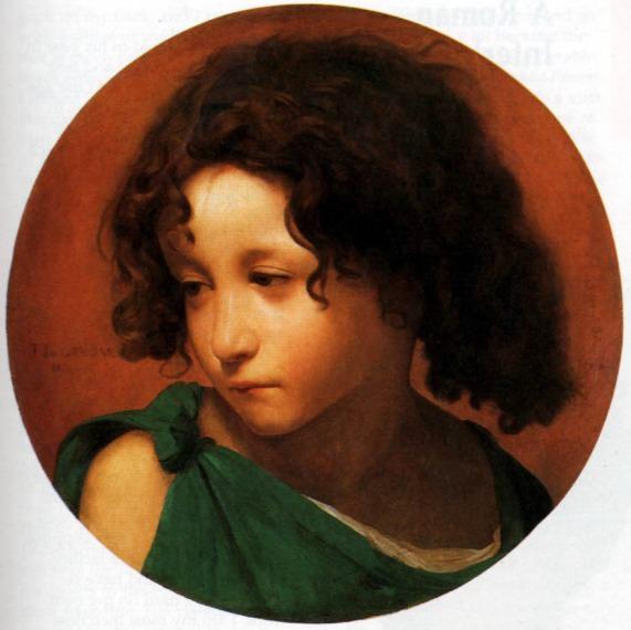Portrait of a Young Boy. Jean-Léon Gérôme