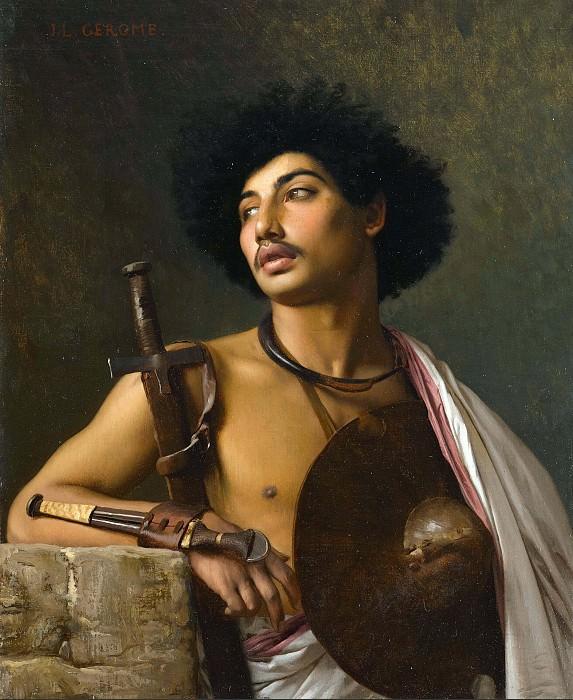 Арабский воин. Жан-Леон Жером